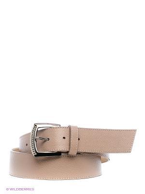 Ремень Eleganzza. Цвет: серо-коричневый