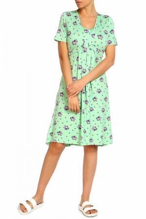 Платье LOLA PALTINGER. Цвет: мята