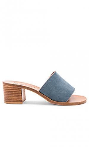 Туфли на каблуке caprika K Jacques. Цвет: синий