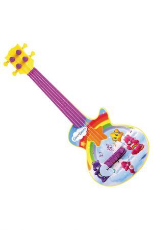 Гитара с медиатором ЗАБОТЛИВЫЕ МИШКИ. Цвет: фиолетовый