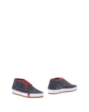 Полусапоги и высокие ботинки BARLEYCORN. Цвет: стальной серый