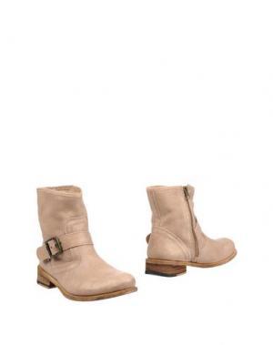 Полусапоги и высокие ботинки FELMINI. Цвет: хаки
