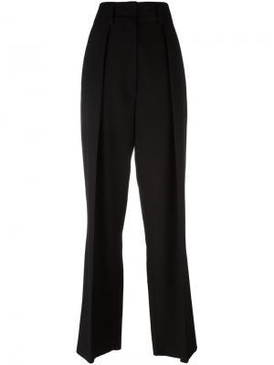 Расклешенные брюки Sportmax. Цвет: чёрный