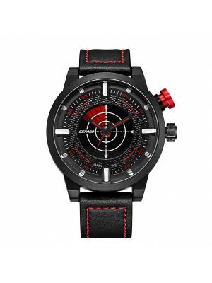 Часы GEPARD.. Цвет: красный, черный