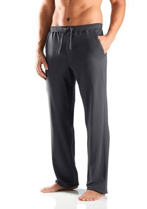 Спортивные брюки Schiesser. Цвет: темно-серый