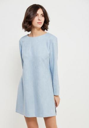 Платье Echo. Цвет: голубой