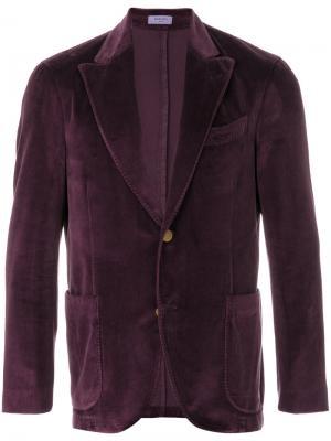 Пиджак Giacca Boglioli. Цвет: розовый и фиолетовый
