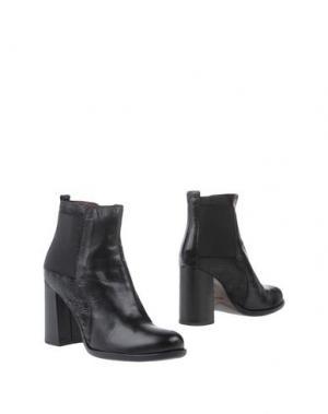 Полусапоги и высокие ботинки ALTO GRADIMENTO. Цвет: черный