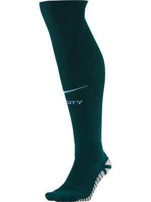 Гольфы MCFC U NG MTCH OTC SOCK HA3 Nike. Цвет: зеленый, синий