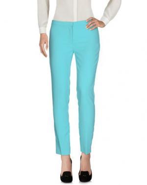 Повседневные брюки CLÓ by CLAUDIA B.. Цвет: бирюзовый