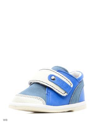 Ботинки ФОМА. Цвет: синий, белый
