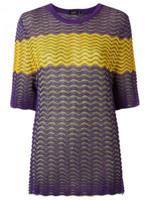 Knit top Gig. Цвет: зелёный