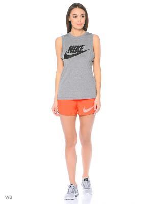 Шорты W NK DRY SHORT CITY CORE Nike. Цвет: оранжевый