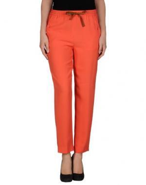 Повседневные брюки MAURO GRIFONI. Цвет: коралловый