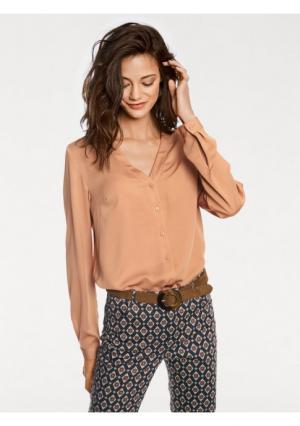 Удлиненная блузка RICK CARDONA by Heine. Цвет: светло-коричневый