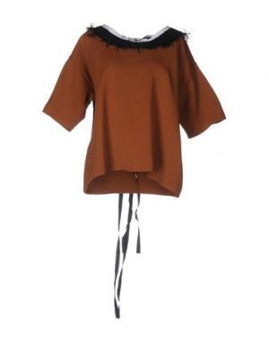 Свитер AKEP. Цвет: коричневый