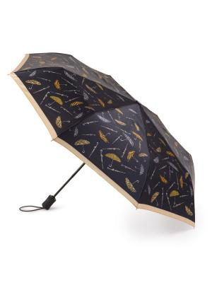 Зонт женский автомат Henry Backer. Цвет: черный
