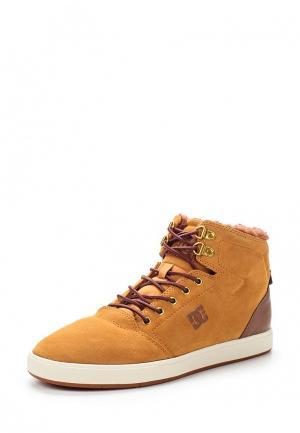 Кеды DC Shoes. Цвет: коричневый