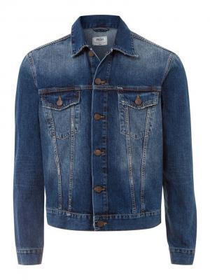 Куртка Cross Jeans. Цвет: темно-синий
