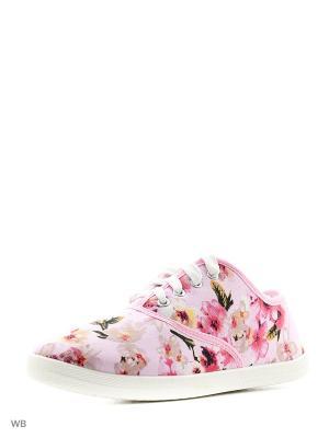 Кеды CentrShoes. Цвет: розовый