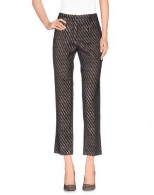 Повседневные брюки ...À_LA_FOIS.... Цвет: темно-коричневый