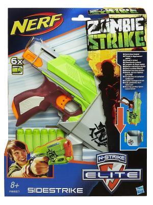 Бластер Зомби Страйк Сайдстрайк Hasbro. Цвет: белый, синий, зеленый, красный, оранжевый