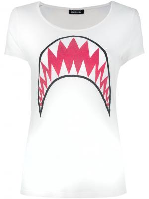 Футболка Shark Rockins. Цвет: белый