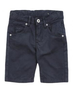 Повседневные брюки EDDIE PEN. Цвет: темно-синий