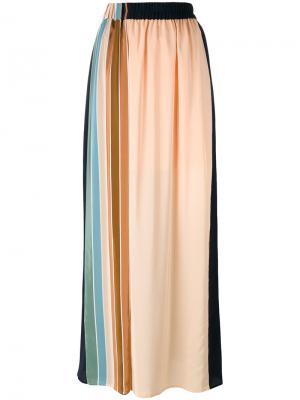 Длинная юбка Liliana Antonia Zander. Цвет: синий