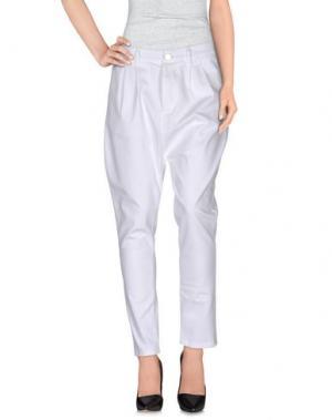 Повседневные брюки BRAND UNIQUE. Цвет: белый
