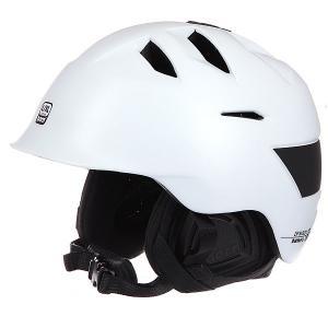Шлем для сноуборда  Kingston Satin White W/ Black Liner Bern. Цвет: белый