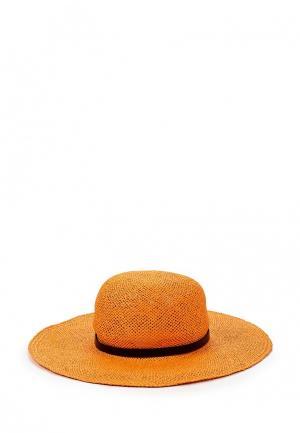 Шляпа Patrizia Pepe. Цвет: оранжевый