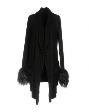 Легкое пальто IF SIX WAS NINE. Цвет: черный