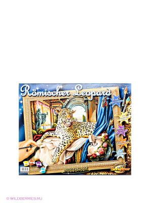 Раскраска по номерам Римский леопард Schipper. Цвет: синий