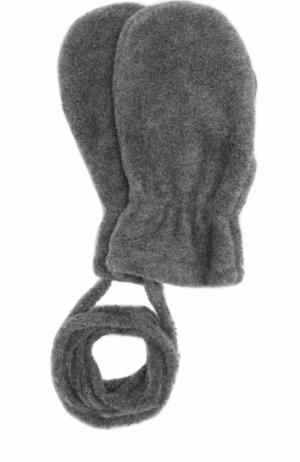 Варежки из полиэстера Catya. Цвет: темно-серый