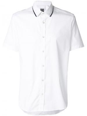 Рубашка с короткими рукавами Les Hommes Urban. Цвет: белый