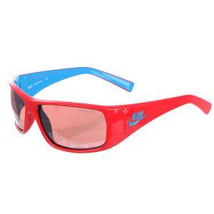 Очки  Grind Vermillion Flash Lens Hyper Red/Neo Turq Nike Optics. Цвет: бордовый,голубой