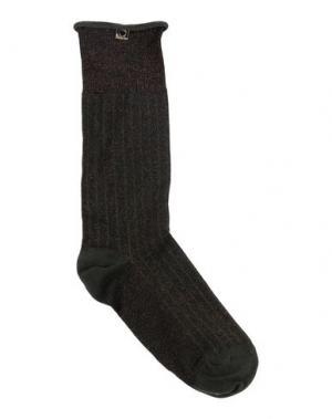 Короткие носки TWIN-SET Simona Barbieri. Цвет: зеленый-милитари