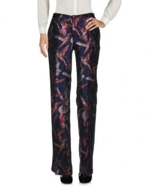 Повседневные брюки GIULIETTE BROWN. Цвет: темно-синий