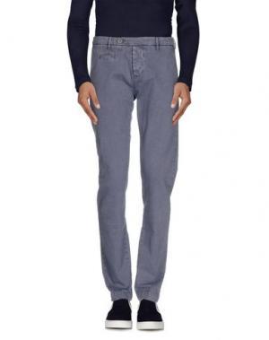 Джинсовые брюки NOVEMB3R. Цвет: грифельно-синий