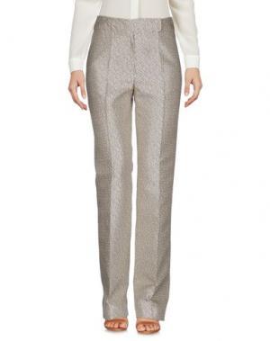 Повседневные брюки MAURIZIO PECORARO. Цвет: бежевый