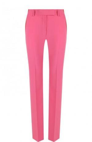 Однотонные расклешенные брюки со стрелками CALVIN KLEIN 205W39NYC. Цвет: розовый