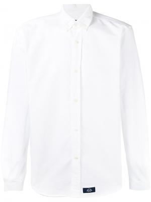 Рубашка на пуговицах Bleu De Paname. Цвет: белый