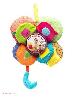 Подвеска Disney Baby. Я и мои друзья. Цвет: зеленый, голубой, оранжевый, розовый