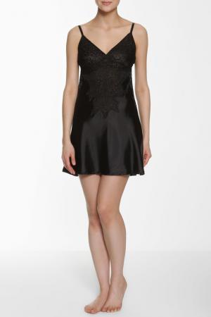 Ночная сорочка Relax Mode. Цвет: черный