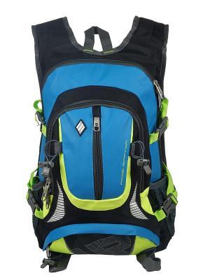 Рюкзак UFO PEOPLE. Цвет: голубой, черный, салатовый