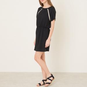 Платье ANNIE CHRISTIAN SESSUN. Цвет: черный