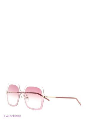 Солнцезащитные очки MARC JACOBS. Цвет: розовый, черный
