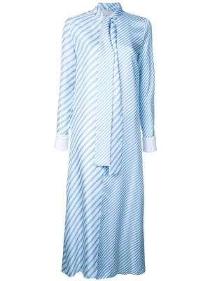 Рубашка в полоску Monse. Цвет: синий