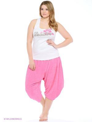 Комплект одежды RELAX MODE. Цвет: фуксия